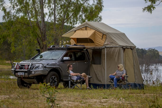 How To Buy The Best Rooftop Tent For Your Ute Carsguide