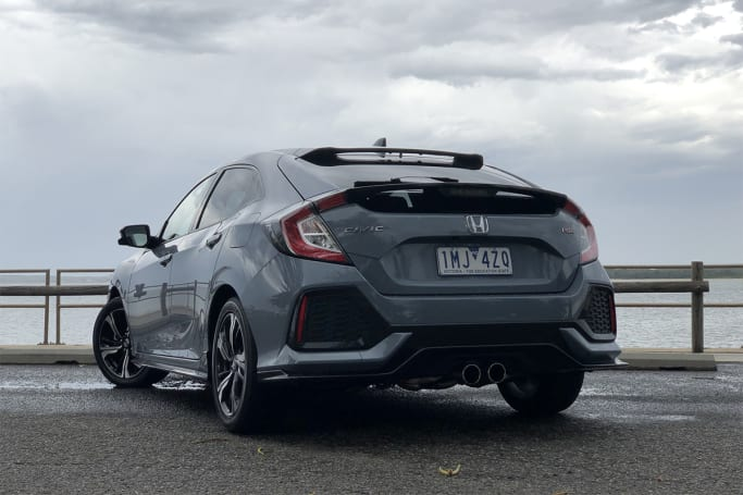 Honda Civic Rs >> Honda Civic 2019 Review Rs Hatch Carsguide