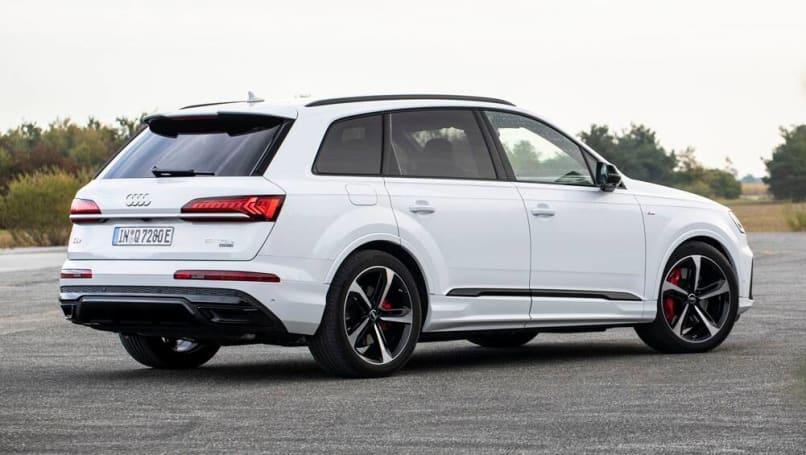 Audi Q7 Tfsi E 2020 Detailed Plug In Suv Returns But Still Uncertain For Australia Car News Carsguide