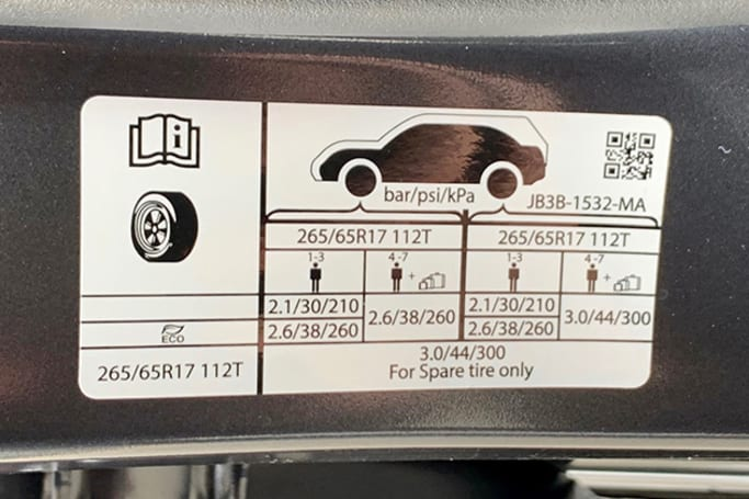 Ford Ranger Tyre Pressure Carsguide