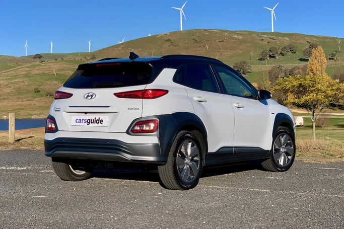 The Kona Electric might be that it doesn't look too different to a regular Kona.