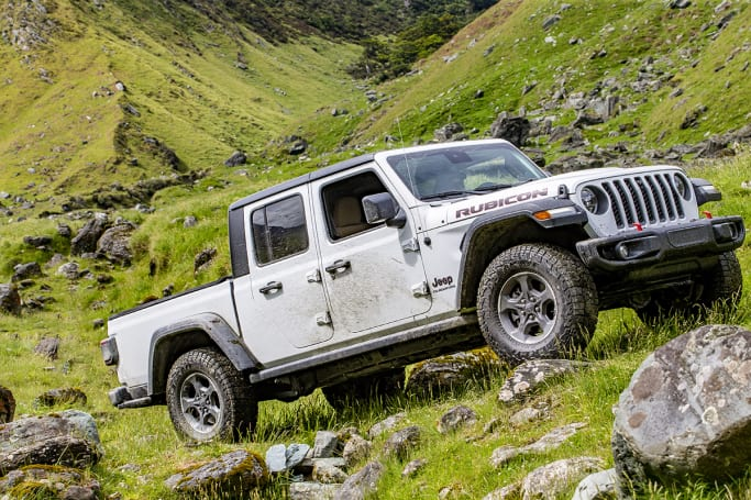 The Gladiator is bigger than most utes on offer in Australia at the moment – except something like the Ram.