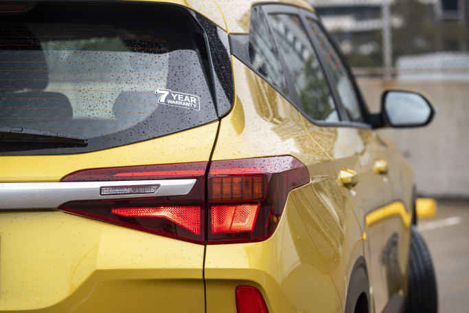 The Seltos is covered by Kia's seven-year/unlimited-kilometre warranty.