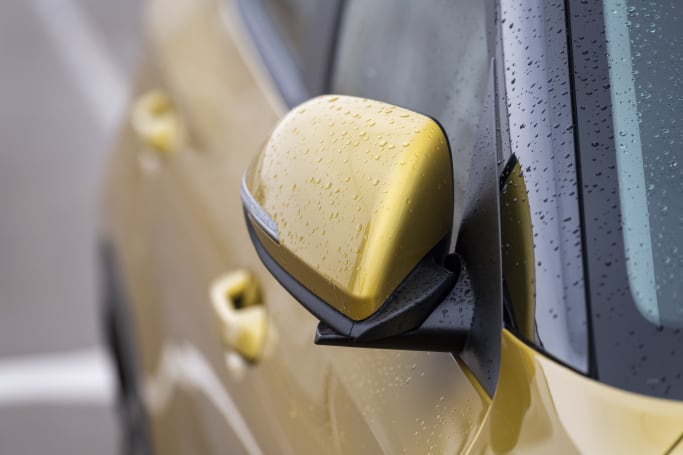 The safety pack includes electric folding wing mirrors.