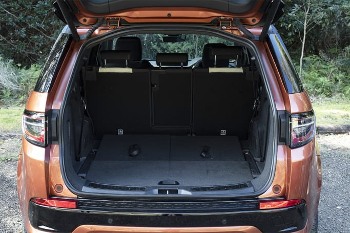 Land Rover Discovery Sport Boot space