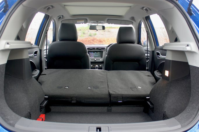 MG ZS 2020 Boot space