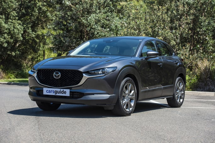 The Mazda CX-30 is an eye-catching piece of automotive styling.