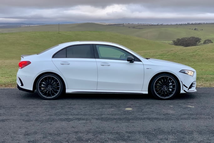 Mercedes-AMG A 35 2020 review: sedan | CarsGuide