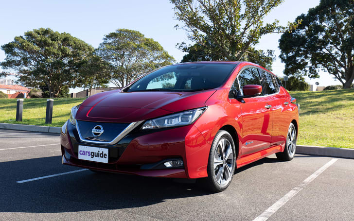 Nissan Leaf 2020 Review Family Test Carsguide