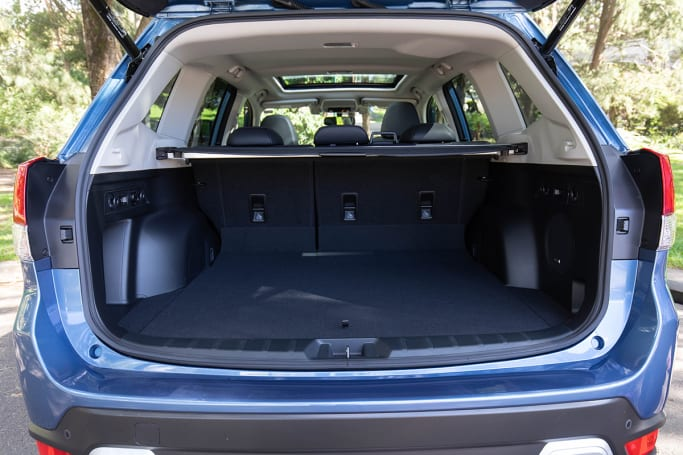 Subaru Forester 2020 Boot space