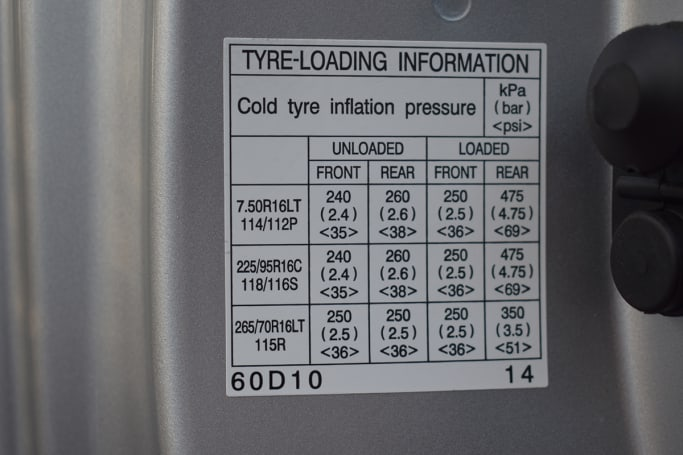 Toyota Land Cruiser Tyre Pressure Carsguide