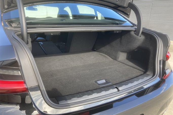BMW 330e Boot space