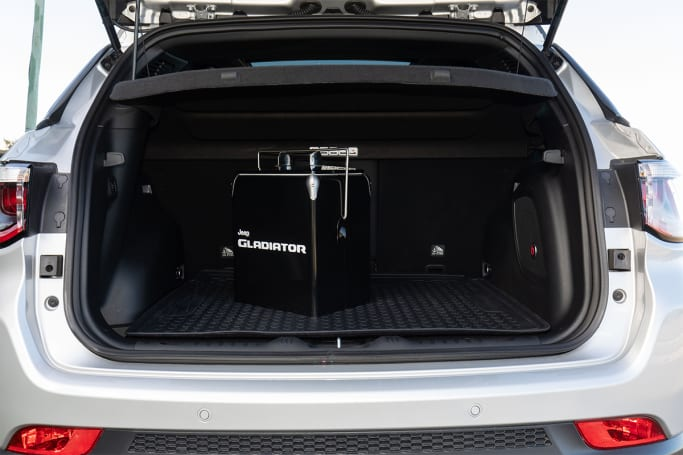 Jeep Compass 2020 Boot space