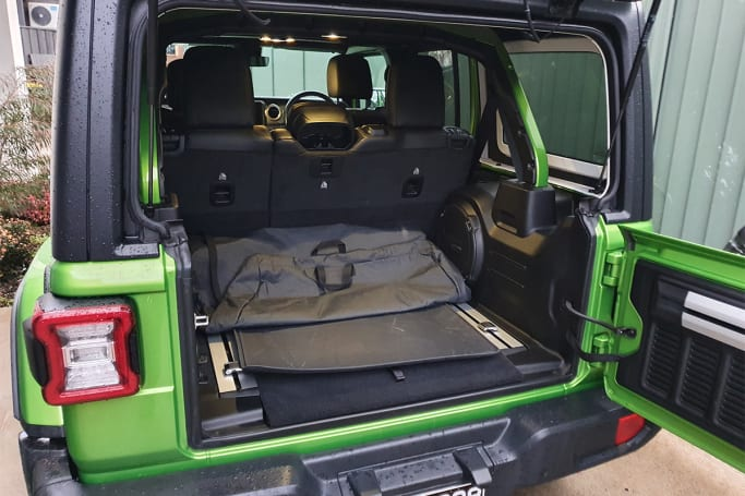 Jeep Wrangler 2020 Boot space