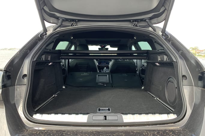 Peugeot 508 Boot space