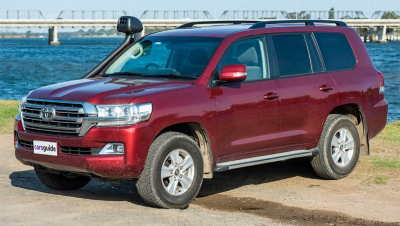 The Toyota LandCruiser 200 Series upper-large SUV surged up the sales charts in 2020.
