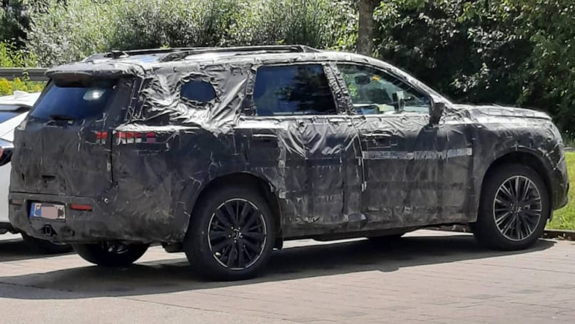 New Nissan Pathfinder 2021 spied! Toyota Kluger rival's ...