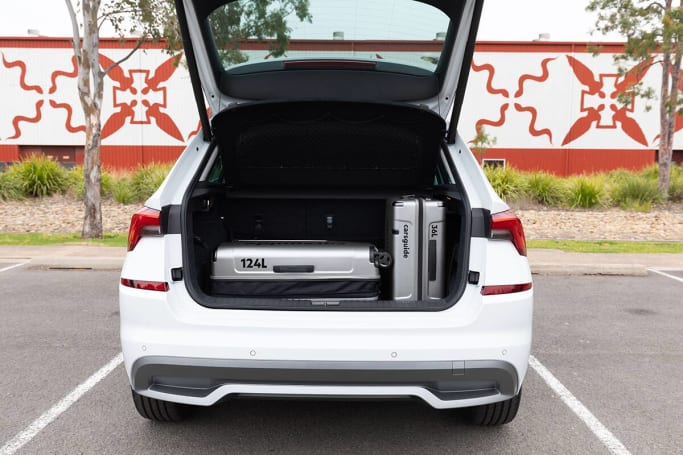 Skoda Kamiq Boot space