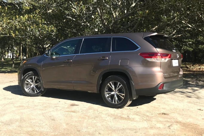 Toyota's Kluger is the archetypal family SUV.