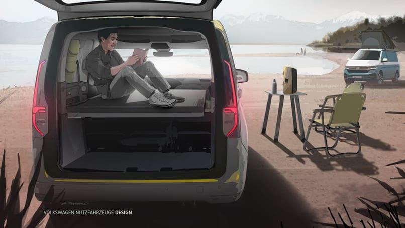 New Volkswagen Caddy Mini-Camper 2021 confirmed ...