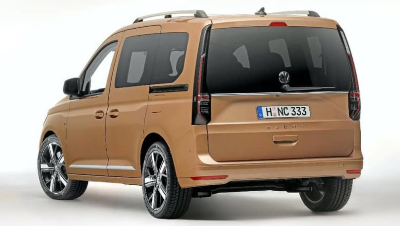new vw caddy 2021 detailed sportier golfbased van and