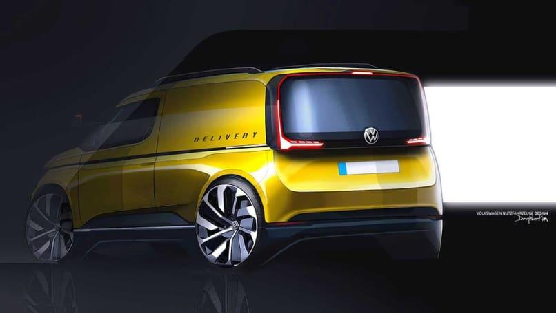 new volkswagen caddy 2021 teased popular van channels