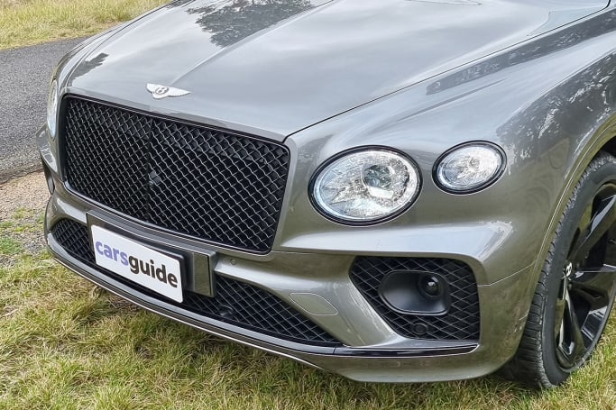 New this year is a wider front grille, flanked by quad LED headlights.