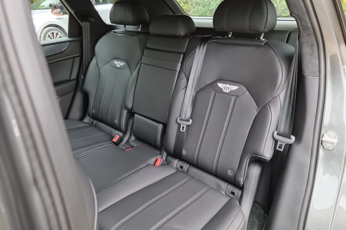 Step into the second-row, though, and the Bentayga offers more than enough room for everyone.