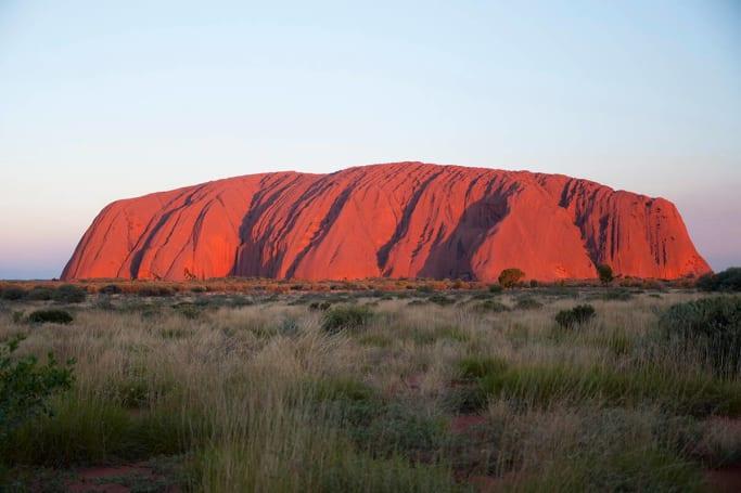 Free camp close to Uluru at Curtain Springs Roadhouse.