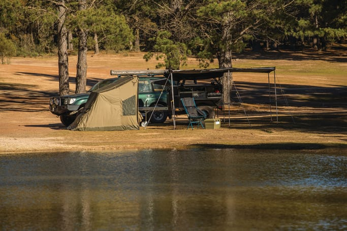 Camp close to Sydney at Dalys Clearing for peanuts and get back to nature.