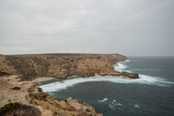 And more clifftop camps can be found all along the Eyre Peninsula.