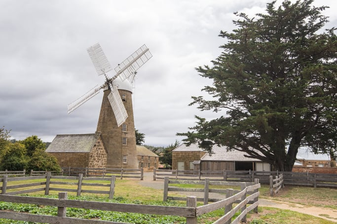 Explore Oatlands historic precinct for the cost of a donation to camp in town.
