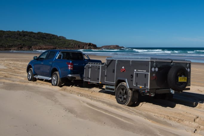 Clothing's optional at this free campsite, but owning a 4WD isn't.