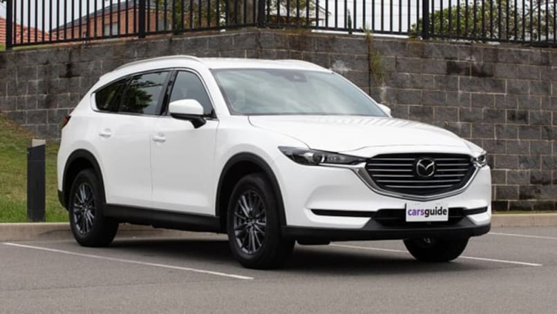 With a new petrol engine option, the Mazda CX-8 large SUV went from strength to strength in 2020.