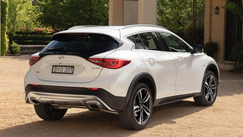 2019 Infiniti QX30: Changes, Design, Price >> Infiniti Qx30 2019 Pricing And Spec Revealed Car News Carsguide