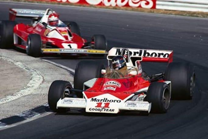 Hunt won the '76 championship with McLaren. (image credit: Formula 1)