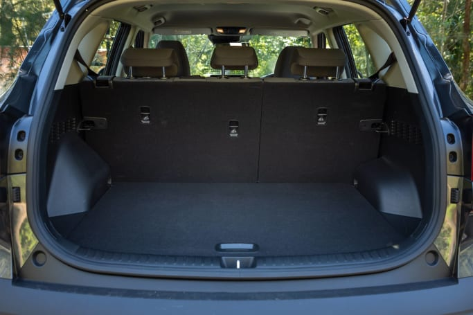 Kia Seltos Boot space