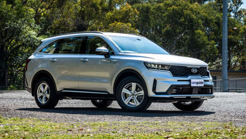 The Kia Sorento large SUV was given a boost by a new model in 2020.