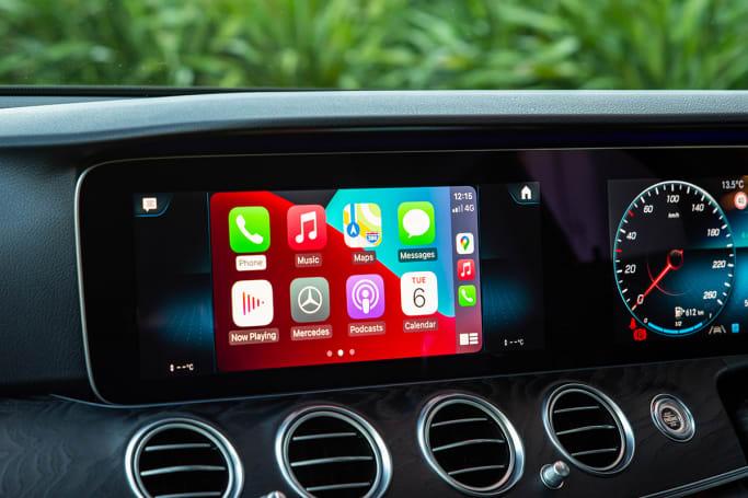 Il est livré avec la connectivité Android Auto et Apple CarPlay.  (photo : Tom White)
