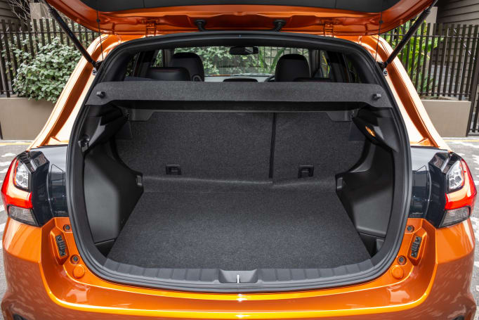 Mitsubishi ASX 2020 Boot space
