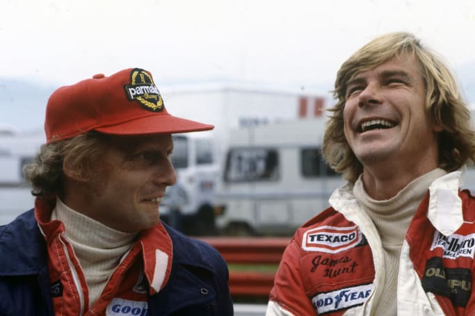 In real life Lauda and Hunt were good friends.