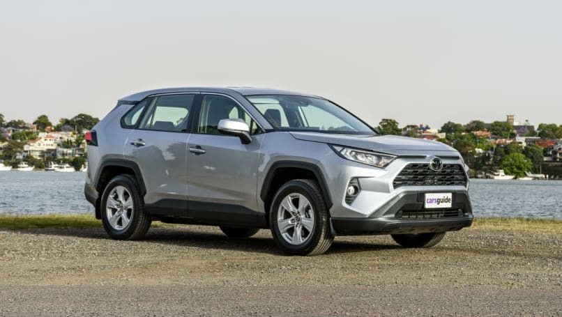 The RAV4 is currently selling like hotcakes.