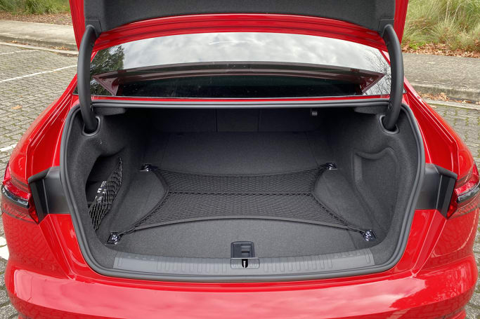 Audi S6 Boot space