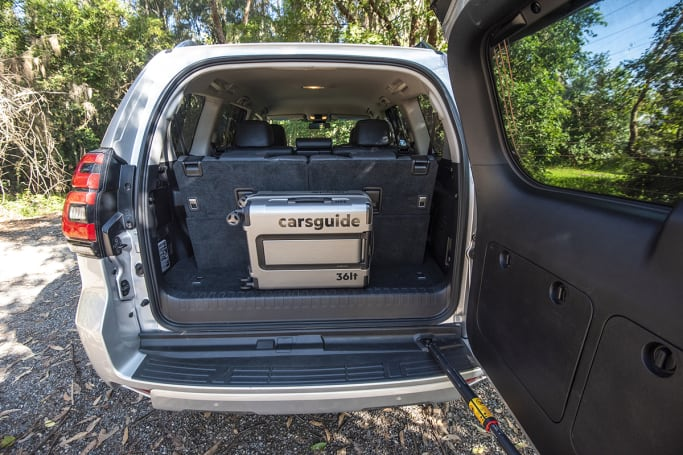 Toyota Land Cruiser 2020 Boot space