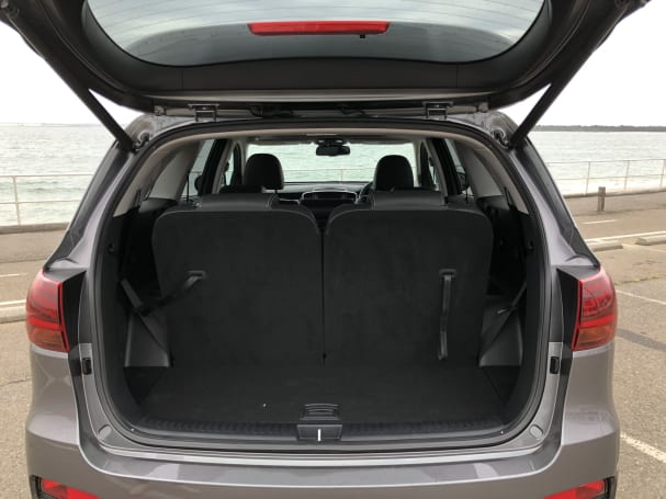 Kia Sorento 2018 Boot space