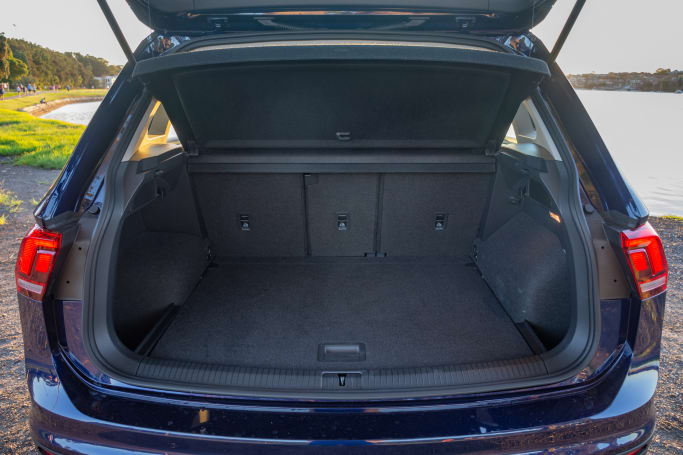 Volkswagen Tiguan 2020 Boot space