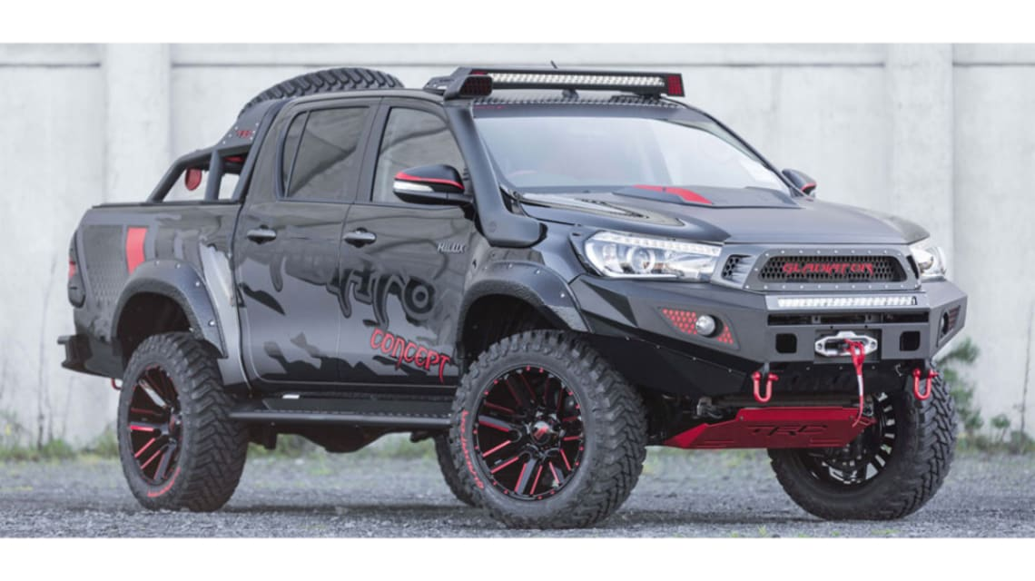 The Ultimate Tough Truck Bargain Toyota Hilux Gladiator Puts The Ranger Raptor To Shame And You Won T Believe The Price Car News Carsguide