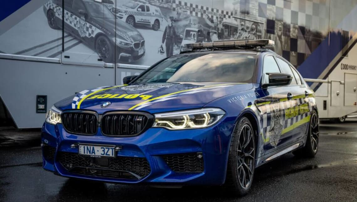 Vic Police has taken delivery of a BMW M5 Competition.