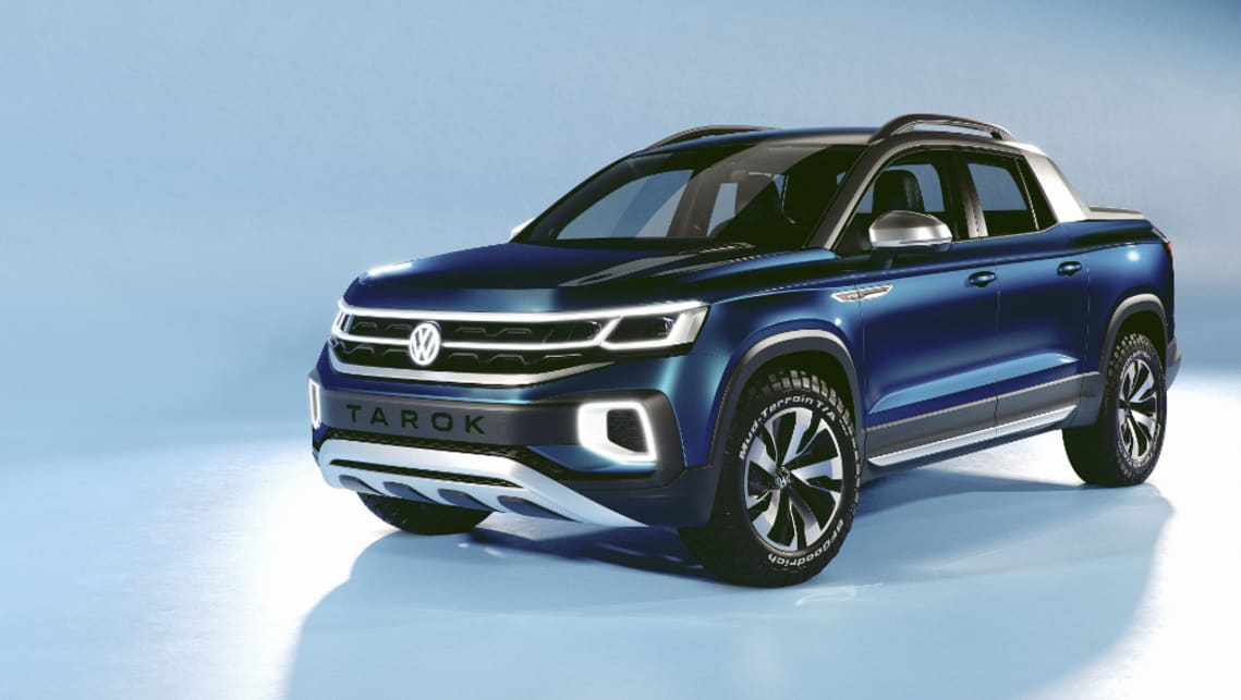 Volkswagen's new ute concept has made its debut.