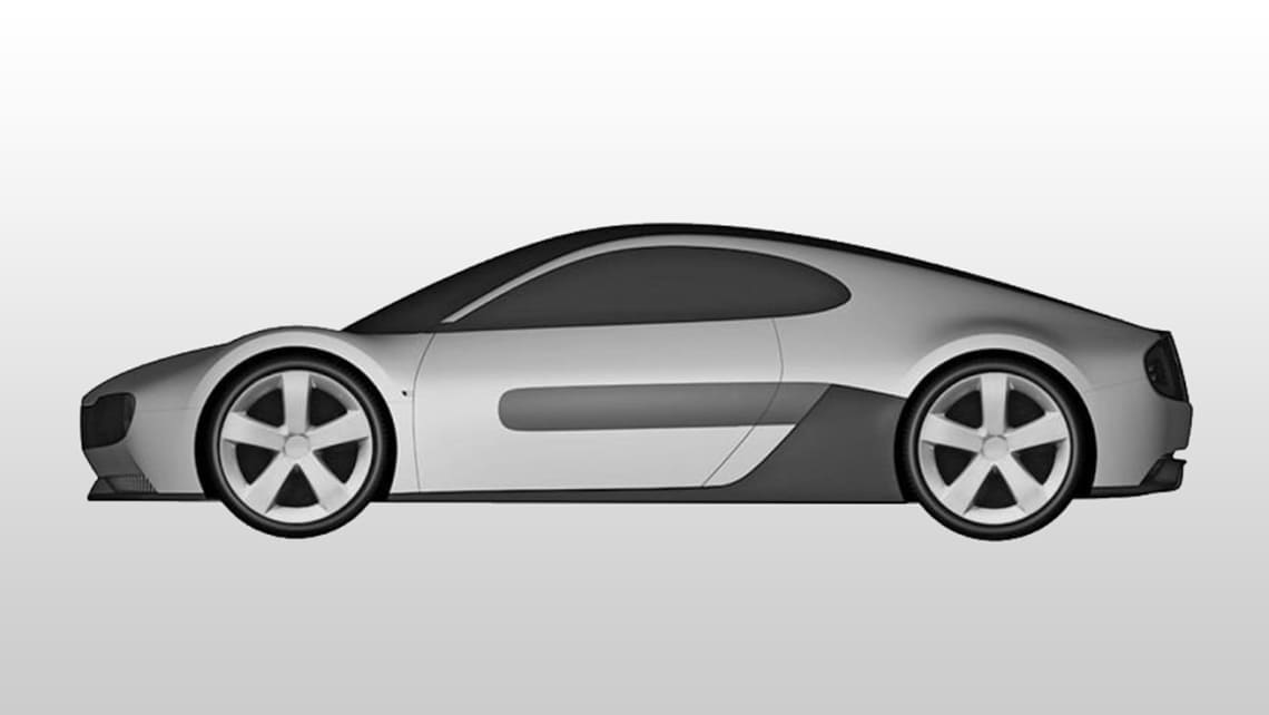 Patents recently filed by Honda shows a sport-focused coupe design.